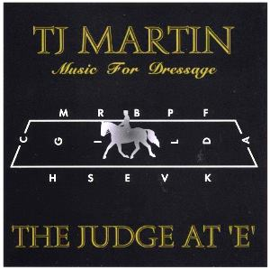 Music for Dressage CD by TJ Martin